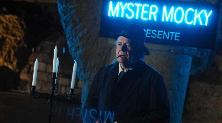 """tournage de la serie """"Mister Mocky présente""""  de Jean-Pierre Mocky   diffusée sur 13ème Rue - Saumur - 20/01/2008 -  Lionel Guericolas"""
